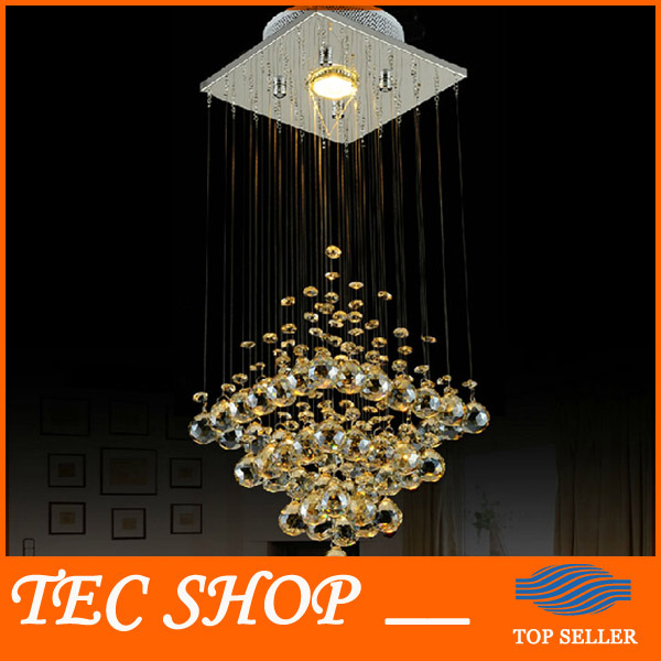 Best Price Modern Crystal Lamp Hanging Wire Ceiling Lights LED Crystal Lights Stair Lamp Restaurants Bedroom Hallway Lamp best price creative pyramid crystal light bedroom restaurant lamp led hanging wire crystal lamp ceiling lights free shipping