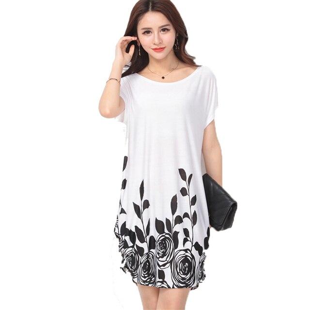 40 проекты мода ice шелковый dress лето большой размер случайные свободные цветочные Dot Печати Пляжные Платья Плюс Размер Женской Одежды Жира ММ