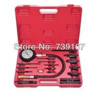 Diesel Engine Cylinder Compression Presssure Test Meter Gauge Tool Set ST0128