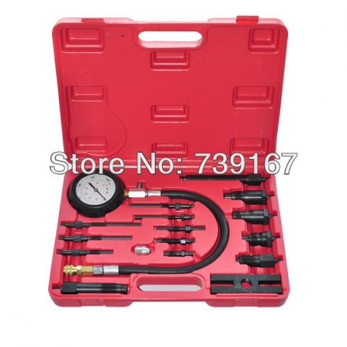 Diesel Engine Cylinder Compression Presssure Test Meter Gauge Tool Set ST0128 novel variable compression ratio vcr engine