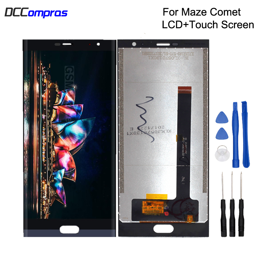 Original For Maze Comet LCD Display Touch Screen Digitizer Repair Phone Parts For Maze Comet Screen
