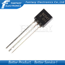 100PCS BC547B TO-92 BC547 TO92 547B new triode transistor free shipping(China (Mainland))