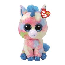 "Ty Beanie Boos Stuffed & Plush Animals Ice Cream Color Unicorn Toy Doll With Tag 6"" 15cm(China)"