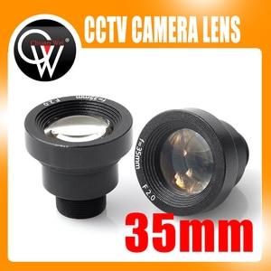 Image 1 - Yeni 1/3 35mm lens M12 CCTV MTV Kurulu IR Lens Güvenlik CCTV Video Kameralar