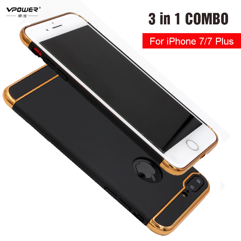Vpower Plating Case para iphone 7/7 plus iphone 8 Funda Luxury Ultra - Accesorios y repuestos para celulares - foto 1