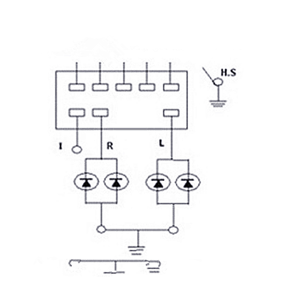 Flasher Wiring Diagrams For Units Ef1206 12 Volt Led Dimmer Switch 5 Amps Max Rotary Onoff