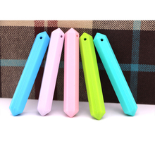 Mydear Baby Teether Food Grade Silicone Pencil Shape 5 PCS Teething Toys Infant Chew Tooth