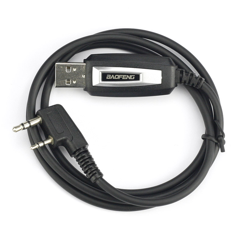 Universal TK USB Programming Cable For BAOFENG UV-5R BF-888S BF-5RC UV-3R+ BF-K5 X6 WLN KD-C1 Walkie Talkie Accessories