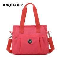 Women Shoulder Big Bags Waterproof Nylon Lady Sling Female Messenger Bag Crossbody Bags For Women Handbag Free Shipping