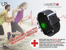 UX Bluetooth Smart Watch Smartwatch Armbanduhr Herzfrequenzmessung für Samsung S6 Anmerkung 4 HTC Android Smartphones Phone Kamerad