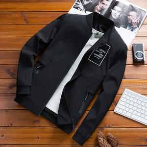 Image 4 - Mountainskin מעילי Mens טייס מפציץ מעיל זכר אופנה בייסבול היפ הופ Streetwear מעילי Slim Fit מעיל מותג בגדי SA680