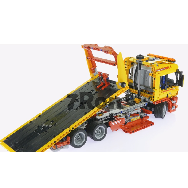 Model building toys hobbies The Flatbed Truck trailer 20021 1143pcs Compatible With lego Blocks Technic 8109 Educational DIY Bri