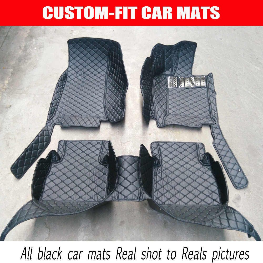שטיחי רצפת מכונית התאמה אישית יד ימין כונן לסובארו XV פורסטר אאוטבק Legacy טרייבקה המכונית MDX אקורה ZDX-סטיילינג