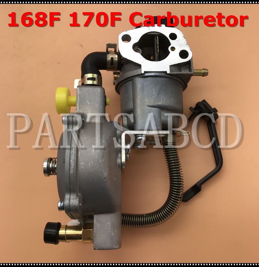 US $19 99 |Carburetor Dual Fuel Conversion Kit For HONDA GX160 GX200 168F  170F 2KW 3KW GENERATOR LPG/CNG GASOLINE Dual Fuel Carburetor Carb-in ATV