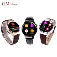 Original Neue Ankunft Smart Watch DM12 Smartwatch Unterstützung SIM Sd-karte Bluetooth WAP GPRS SMS MP3 MP4 USB Für iPhone Und Android