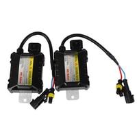1 Pair HID Replacement Car Headlight 35W Digital Slim Ballast H1 H3 H4 H7 H11 DC