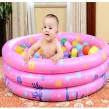 ISHOWTIENDA Trinuclear Inflatable Baby Swimming Pool Center