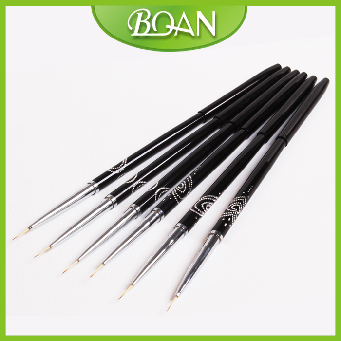 2014 High Quality 1 Pc 2# Nail Liner Brush Nail Artificial Painting Brush Drawing Line Brush for Nail Free Shipping