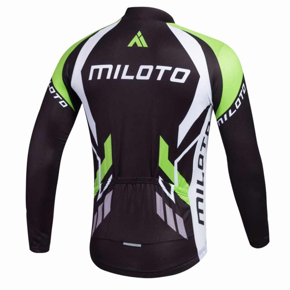 ... Men s Reflective Bicycle Jersey Long Sleeve Coolmax Mountain Bike Jersey  Quick Dry Cycling Long Sleeve Jersey ... 59f85a2cc