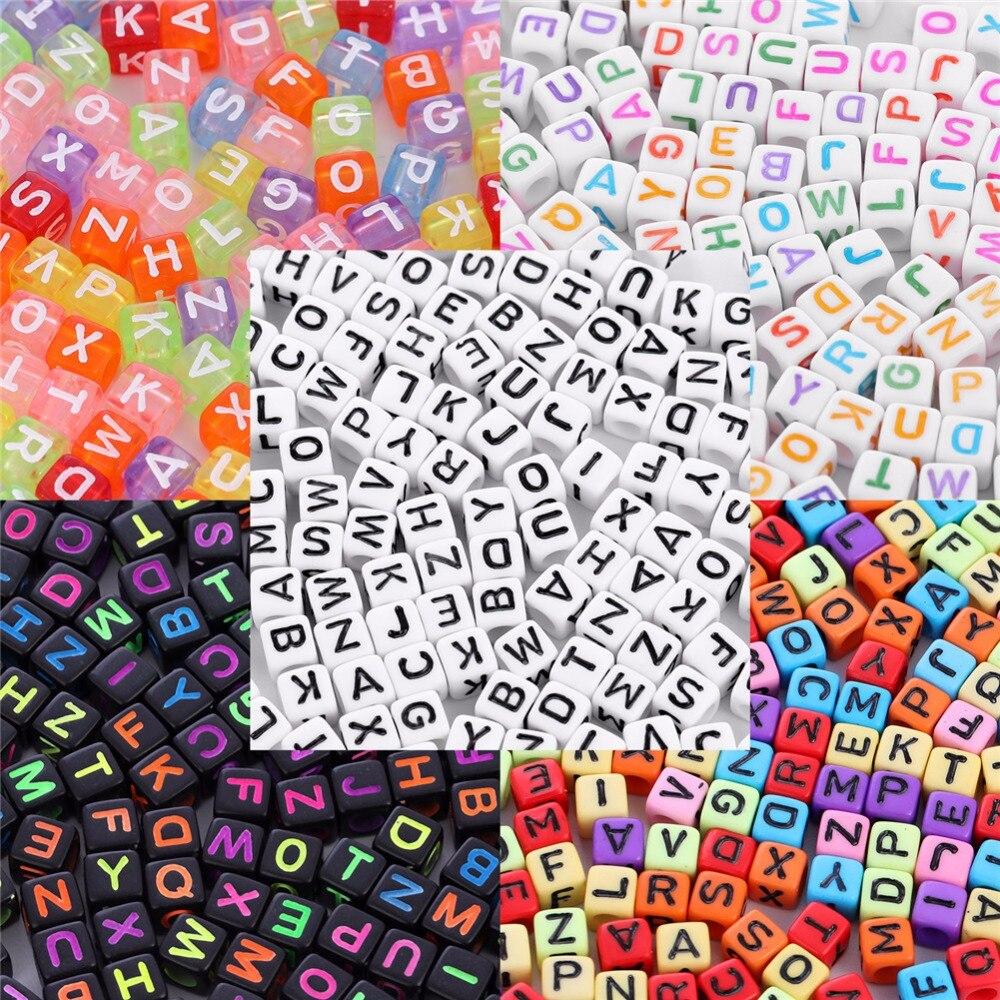 Letra para la joyería que hace granos del alfabeto para niños Kandi ...