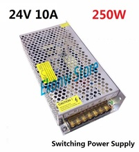 250W 24V 10A Switching Power Supply Factory Outlet SMPS Driver AC110-220V DC24V Transformer for LED Strip Light Module Display
