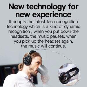 Image 5 - 2019 Bluedio T7 zdefiniowane przez użytkownika słuchawki bluetooth z redukcją szumów bezprzewodowy zestaw słuchawkowy z mikrofonami do telefonów iphone xiaomi