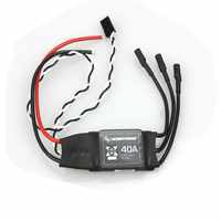 Hobbywing XRotor 2-6S Lipo 40A / 20A / 10A Brushless ESC No BEC high refresh rate for Multi-axle aircraft Holicopters