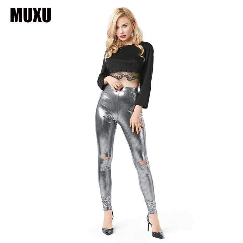 MUXU women summer mujer trousers women calcas feminina culottes harem   pants     capris   rainbow   pants   cargo   pants   women trousers