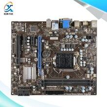 MSI H55M-E21 Original Used Desktop Материнских Плат H55 Сокет LGA 1156 DDR3 i3 i5 i7 8 Г SATA2 USB2 Микро-ATX