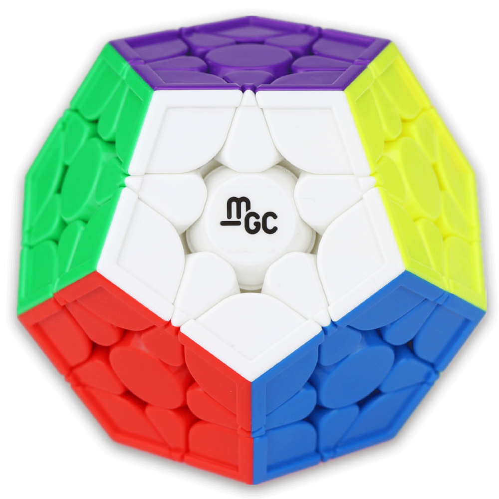 YJ MGC Magnetic Megaminx Stickerless Magic Cube Speed Puzzle Cube Educational Toys Gift Cubo Magico