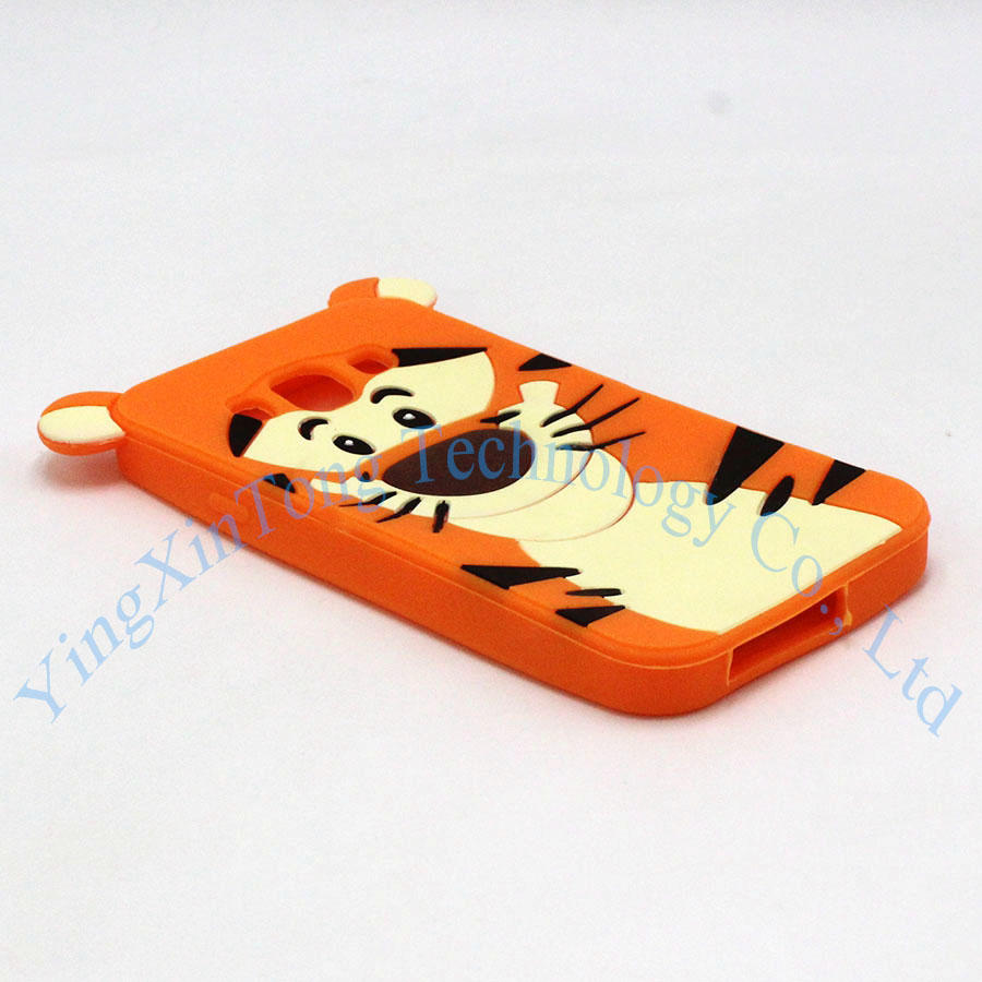 For Samsung Galaxy A5 A7 Phone Cases Cartoon Sulley Alice Cat Tiger Soft Silicone Cover For Samaung J1 ACE J1 mini 2016 J3 J5 J7 in Fitted Cases from Cellphones Telecommunications