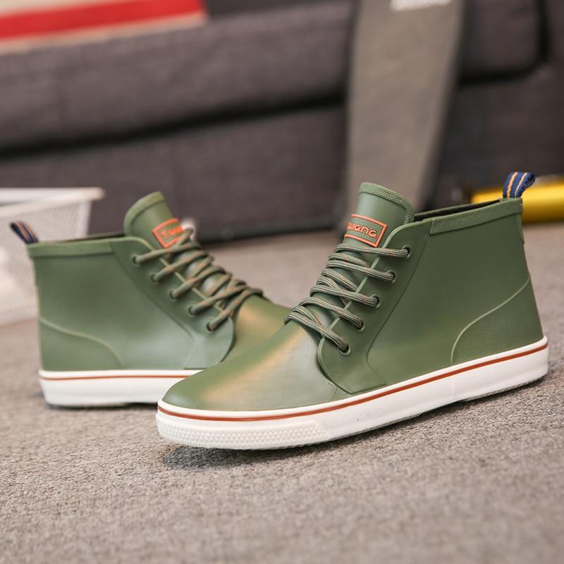 Livre royalblue Ar Qualidade Couro Botas De Sapatos verde Inverno Preto Inverno Barcos Marca Homens Ao outono Especial Pu 1wq6a6