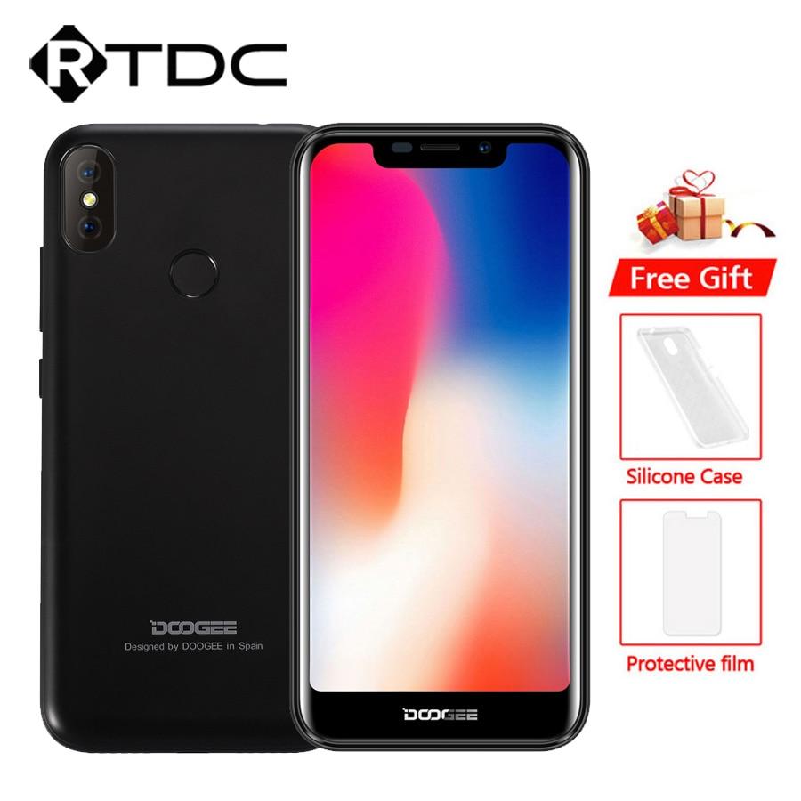 "DOOGEE X70 Android 8,1 de 5,5 ""19:9 teléfono móvil huella dactilar cara desbloquear MTK6737 2GB + 16GB 4000mAh dual 8MP + 5MP 3G OTA teléfono inteligente-in Los teléfonos móviles from Teléfonos celulares y telecomunicaciones on AliExpress - 11.11_Double 11_Singles' Day 1"