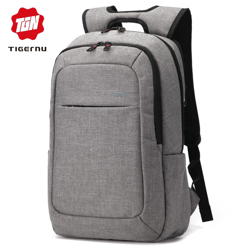 Tigernu Anti Theft Women's Backpack Men's Business Daily Backpack College Teenager School Backpack Bag Laptop Backpack