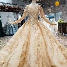 CHANVENUEL LS486321 ball gown evening dress sleeve
