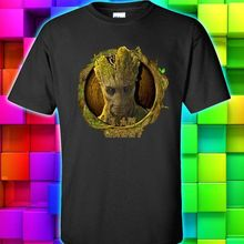 GUARDIANS OF THE GALAXY I AM GROOT black forest green t shirt tee S M L