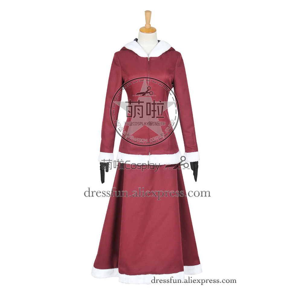Beauty and the Beast The Enchanted Christmas Cosplay Belle Costume Christmas Dress Red Hoodies Fashion Beautiful Clothing