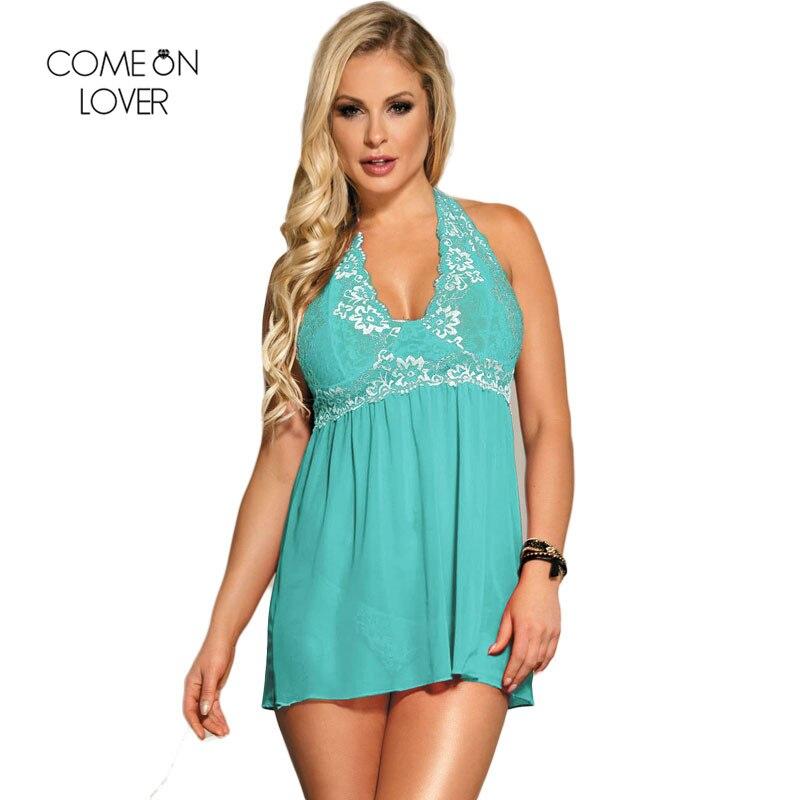 e9857b02ca Ladies Nighties Lace Sleepwear Mesh Suspenders Sexy Nightgown Plus Size