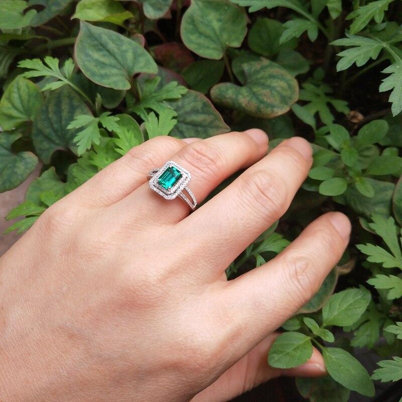 6x8mm Poire Cut Emerald KIWI vert opale de feu Bijoux en Argent Collier Pendentif