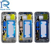 Middle Housing Frame Bezel Replacement Parts For Samsung Galaxy S7 G930 G930F G930P G930V G930A Middle