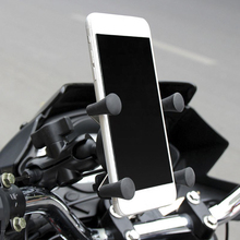Bike Grip Motorcycle Car Mount Cellphone Holder USB Charger