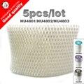 5 unids/lote OEM HU4102 humidificador filtros de filtro de las bacterias y la escala para Philips HU4801/HU4802/HU4803 humidificador partes