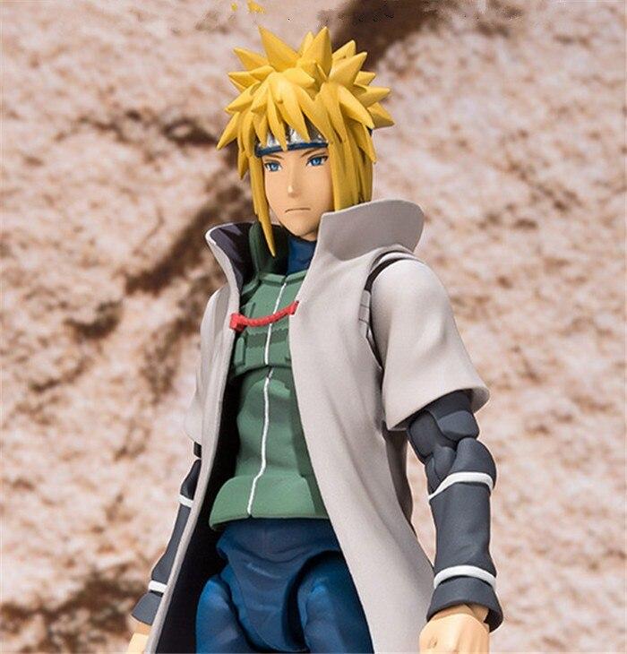 15cm Naruto Action Figure Sasuke Namikaze Minato Action Figures Toys