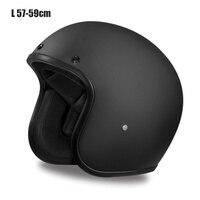 New Vintage Motorcycle Helmet Soft Open Face Kind Design Lightweight Helmet For Motorcycle Cruiser