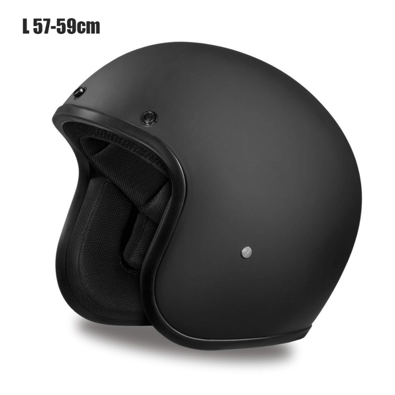 Nouveau casque de moto Vintage doux visage ouvert conception casque léger pour croiseur de moto