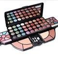 62 Full Color Shimmer Matte Sombra Maquiagem Profissional Paleta Sombra Blush Maquiagem Cosméticos Set Kit Com Escova
