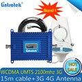 Усилитель сигнала Lintratek 3G WCDMA 2100 МГц ALC  мобильный телефон  GSM 3G  Интернет-ретранслятор сотового телефона  3G 4G усилитель