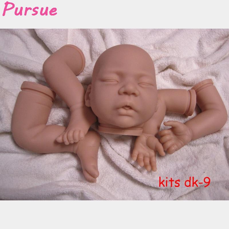 Pursue 21 inch 3 4 vinyl limbs head doll kits for 20 22 lifelike sleeping silicone