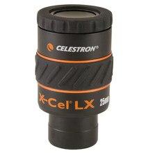 Celestron X-CEL lx 25mm ocular 1.25-Polegada grande angular de alta definição grande calibre telescópio ocular não monocular uma peça