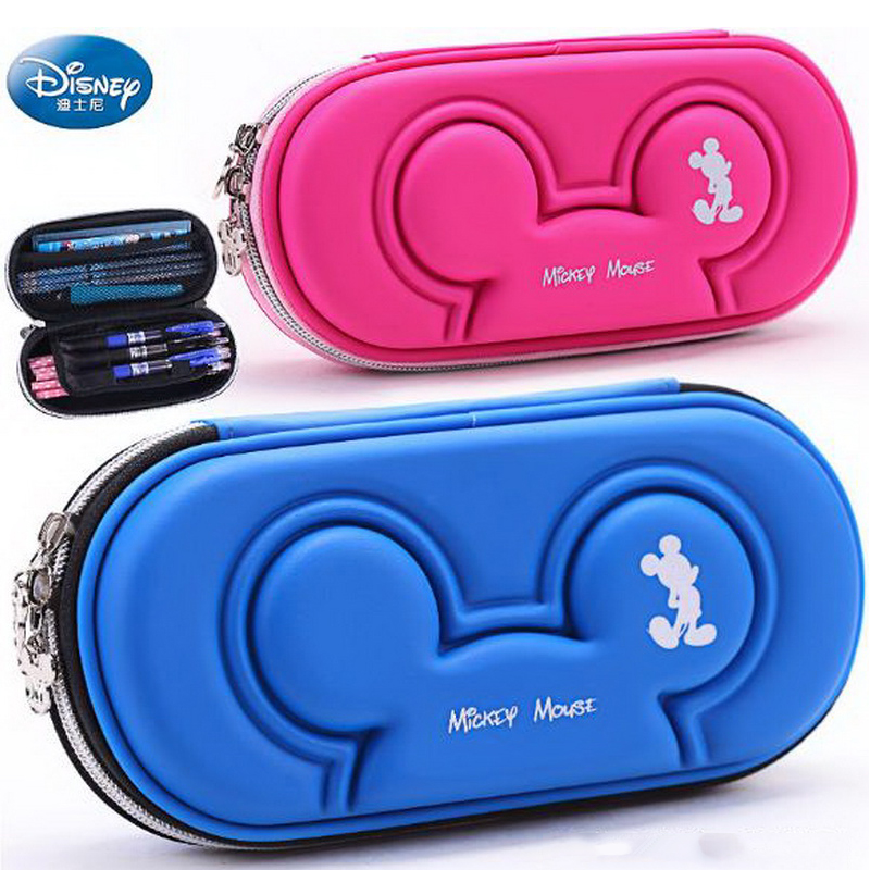 220907/Disney multi-function pencil case boys and girls stationery box pencil box anti-collision large capacity pencil case